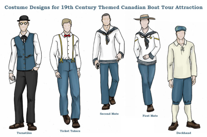 Boat Tour Costumes