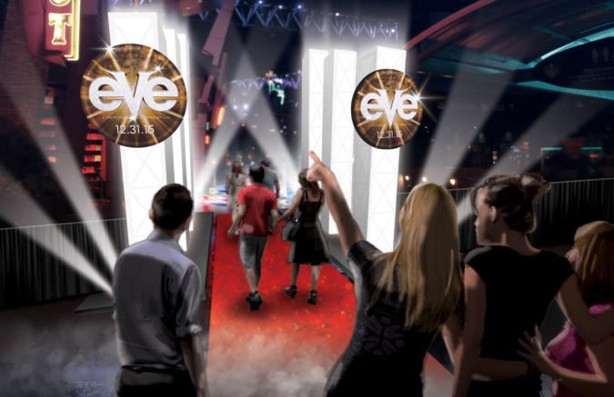 Universal Studios New Years Eve Concepts