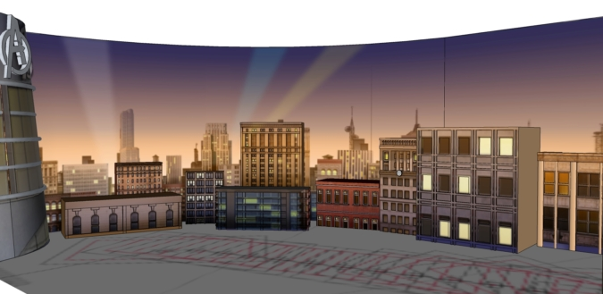 SketchUp Model of Scenes