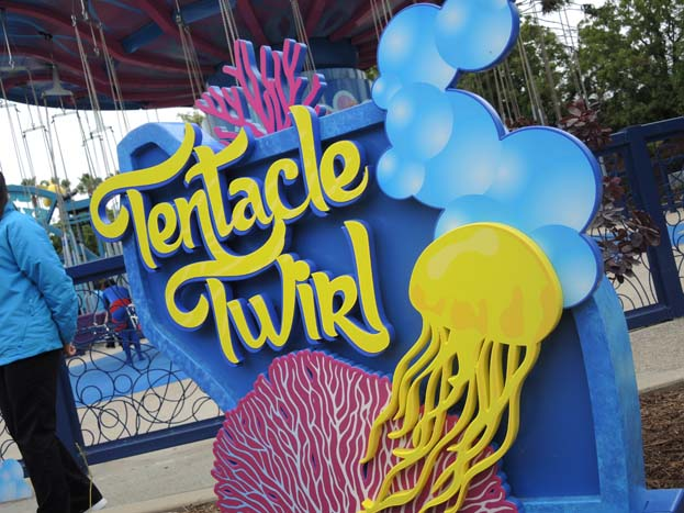 Tentacle Twirl ID Sign