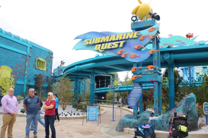 Submarine Quest ID Sign