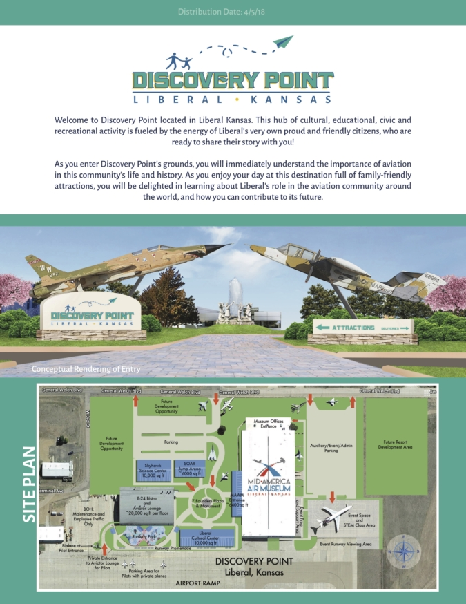 Site Plan and Entrance Key Art for Destination