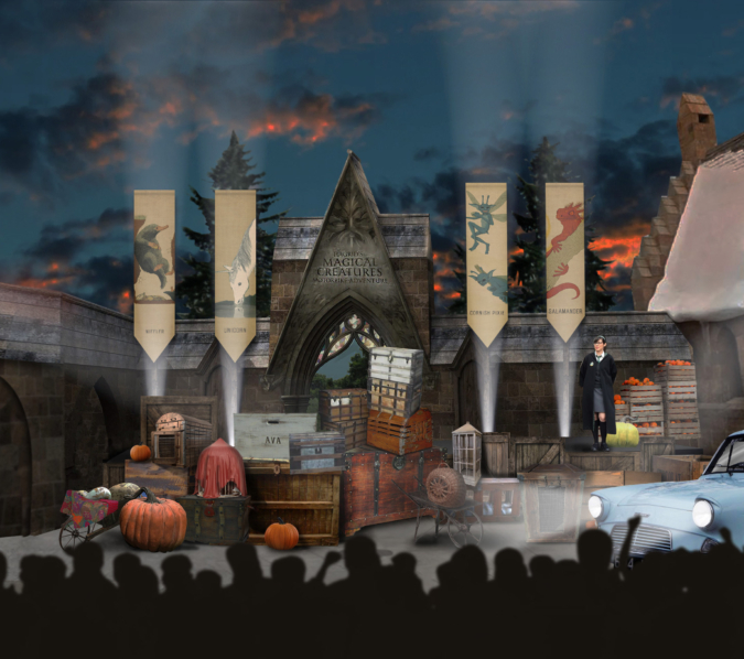 Concept Artwork for the middle portion of the show