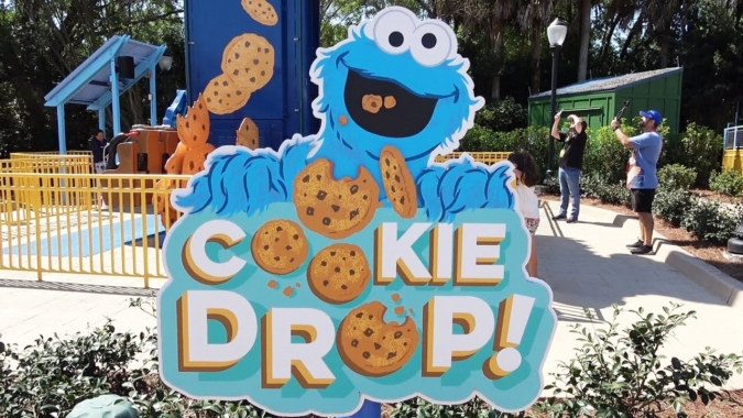 Cookie Drop ID Sign